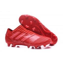 Adidas Nemeziz 17+ 360 Agility FG para Hombre Rojo Rosa