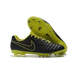 Zapatillas de fútbol Baratas Nike Tiempo Legend VII FG Amarillo Negro