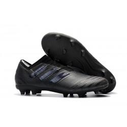 Zapatos de fútbol Baratas Adidas Nemeziz 17+ 360 Agility FG Todo Negro