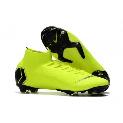 Baratas Zapatillas de fútbol Nike Mercurial Superfly VI 360 Elite FG Amarillo Fluorescente