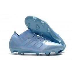 Zapatillas de fútbol Adidas Nemeziz Messi 18.1 FG Azul