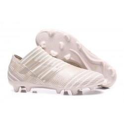 Zapatos de fútbol Adidas Nemeziz 17+ 360 Agility FG Marrón Claro Sésamo Blanco