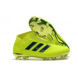 Zapatillas de fútbol adidas Nemeziz 18+ FG - Verde Negro