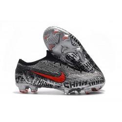 Zapatillas de fútbol Nike Mercurial Vapor XII Elite FG Neymar Negro Blanco Rojo