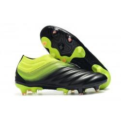 Zapatillas de fútbol Adidas Copa 19+ FG Negro Verde