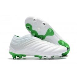 Zapatillas de fútbol Adidas Copa 19+ FG Blanco Verde