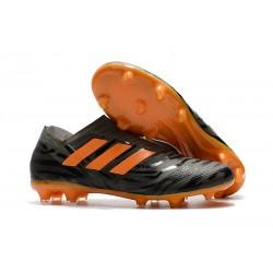 Botas de fútbol Adidas Nemeziz 17+ 360 Agility FG Negro Naranja