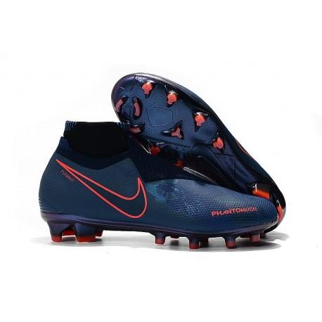 Zapatillas de fútbol Baratas Nike Phantom Vision Elite DF FG Fully Charged Azul