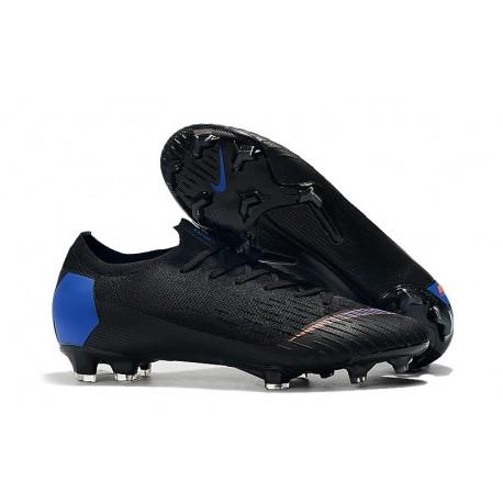 Nike Mercurial Vapor XII Elite FG Zapatos - Negro Azul Naranja