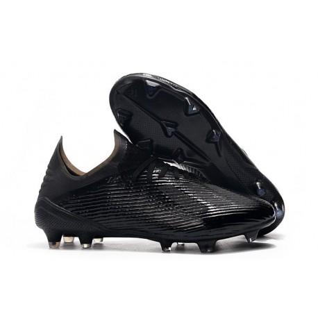 Zapatillas de Fútbol adidas X 19.1 FG Negro