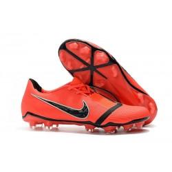 Botas de Fútbol Nike Phantom Venom Elite FG Rojo Negro