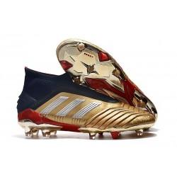 Zapatillas de Fútbol adidas Predator 19+ FG Oro Argento