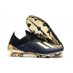 Zapatos de Fútbol adidas X 19+ FG Inner Game Azul Negro Oro