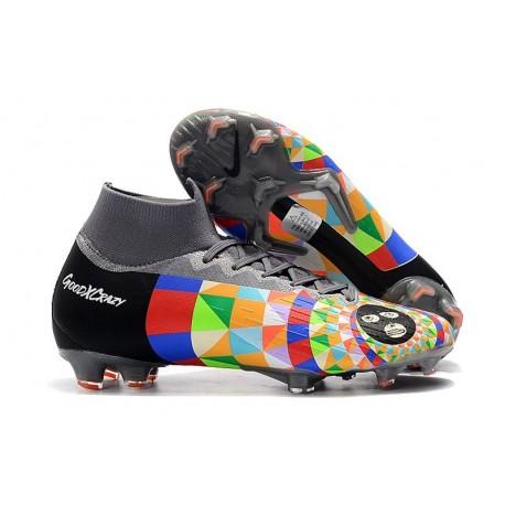 Dani Alves Nike Botas de Fútbol Mercurial Superfly 6 Elite FG