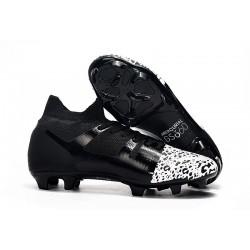 Nike Mercurial GS 360 Zapatos de Futbol - Negro Blanco