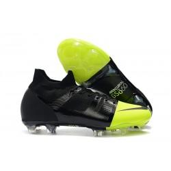 Nike Mercurial GS 360 Zapatos de Futbol - Negro Verde