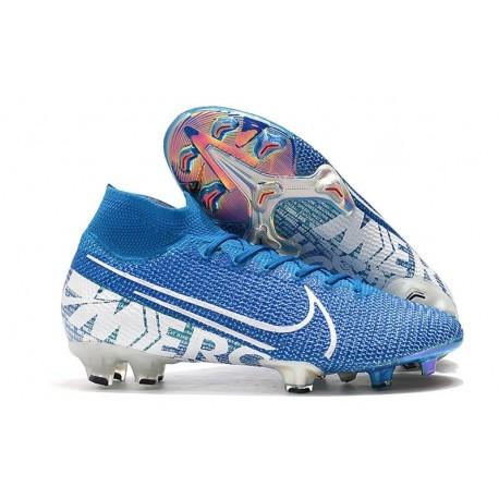 Nike Mercurial Superfly VII Elite FG Zapatos New Lights Azul