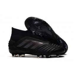 adidas Predator 19+ FG Zapatos de Futbol Negro