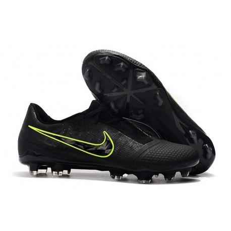 Botas de Fútbol Nike Phantom Venom Elite FG Negro Amarillo Fluorescente