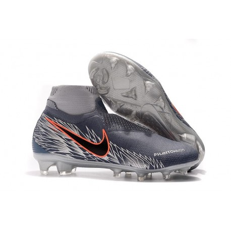 Botas de fútbol Nike Phantom VSN Elite DF FG Victory Pack Gris