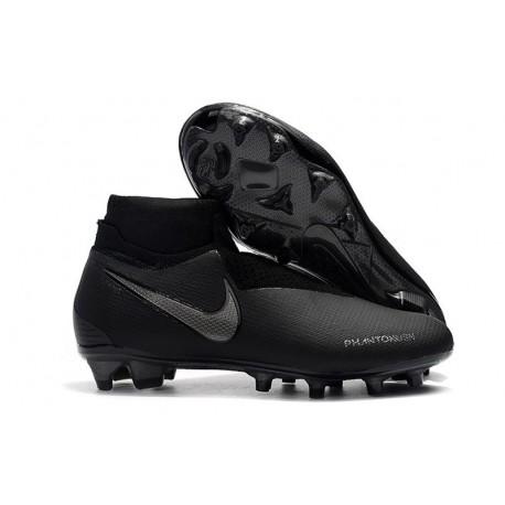 Zapatillas de fútbol Baratas Nike Phantom Vision Elite DF FG Todo Negro