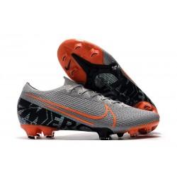 Botas de fútbol Nike Mercurial Vapor 13 Elite FG Gris Naranja