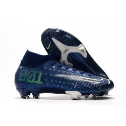 Nike Dream Speed Mercurial Superfly VII Elite FG Zapatos Azul Blanco