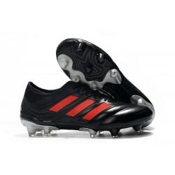 Nuevo Adidas Copa 19.1 FG Zapatillas de fútbol Negro Rojo