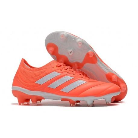 Nuevo Adidas Copa 19.1 FG Zapatillas de fútbol Rojo Blanco