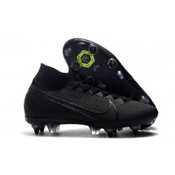 Nike Mercurial Superfly VII Elite SG-Pro AC Traction Negro