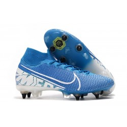 Nike Mercurial Superfly VII Elite SG-Pro AC Traction New Lights Azul