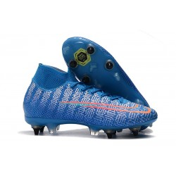 Nike Mercurial Superfly VII Elite SG-Pro AC Traction Azul Rojo