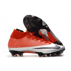 Nike Future DNA Mercurial Superfly 7 Elite SE FG Rojo Plata