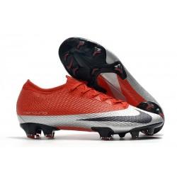 Nike Mercurial Vapor 13 Elite FG Future DNA Rojo Plata Negro
