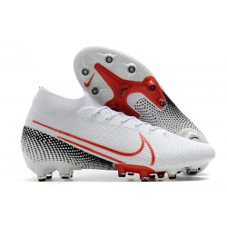 Nike Mercurial Superfly 7 Elite AG-Pro Blanco Rojo