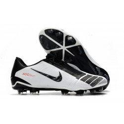 Zapatillas Futbol Nike Phantom Vnm Elite FG Negro Blanco