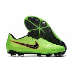 Zapatillas Futbol Nike Phantom Vnm Elite FG Verde Strike Negro