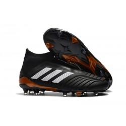 Nuevo Zapatillas de fútbol Adidas Predator 18+ FG Negro Blanco Rojo
