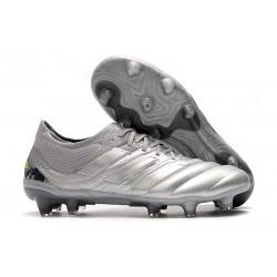 Nuevo Adidas Copa 19.1 FG Zapatillas de fútbol Silver Amarillo
