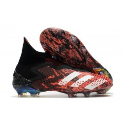 Botas adidas Predator Mutator 20+ FG Negro Blanco Rojo