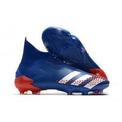 adidas Zapatillas Predator Mutator 20+ FG Azul Blanco Rojo
