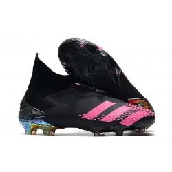 adidas Zapatillas Predator Mutator 20+ FG Negro Rosa