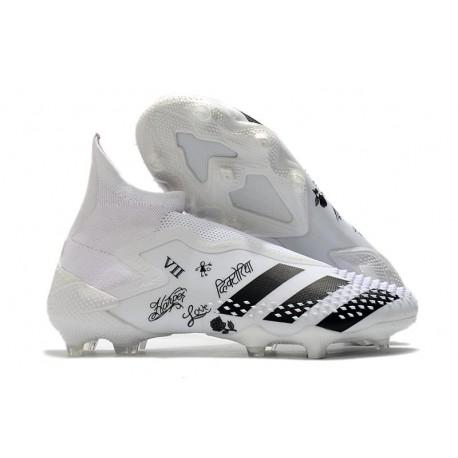 adidas Zapatillas Predator Mutator 20+ FG Blanco Negro