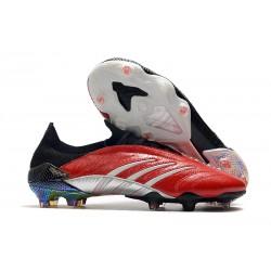 Botas de Fútbol adidas Predator Archive FG Hombres Rojo Blanco Negro