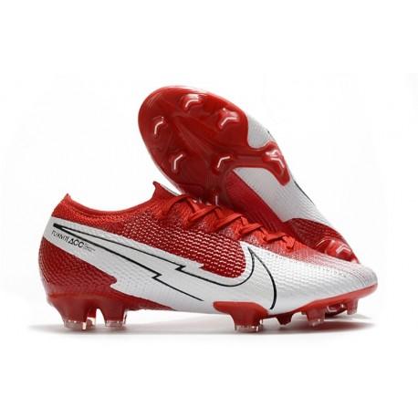 Nike Mercurial Vapor 13 Elite FG ACC Rojo Blanco