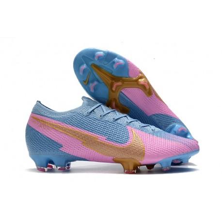 Nike Mercurial Vapor 13 Elite FG ACC Bleu Rosa Oro