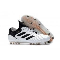Botas de fútbol Adidas Copa 18.1 FG Para Hombre Blanco Negro Dorado