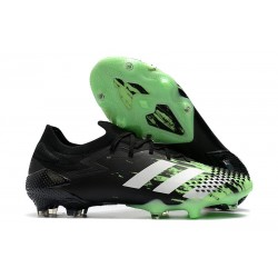 adidas Botas Predator Mutator 20.1 Low FG Verde señal Blanco Negro
