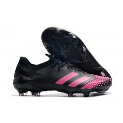 adidas Botas de fútbol Predator Mutator 20.1 Low FG Negro Rosa