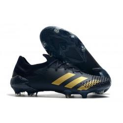 adidas Botas de fútbol Predator Mutator 20.1 Low FG Negro Oro